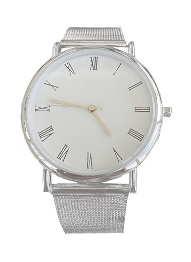 Takıştır Saat Gümüş